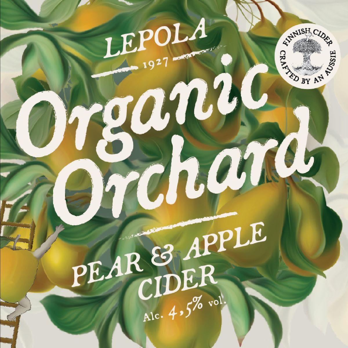 Lepola Organic Pear & Apple Cider 5,5% - 0,33l bottle