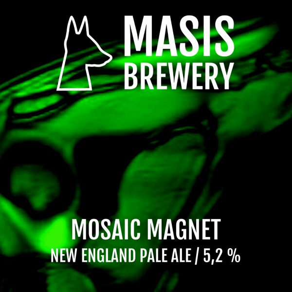 Masis Brewery Mosaic Magnet New England Pale Ale 5.2% - 0.33l can