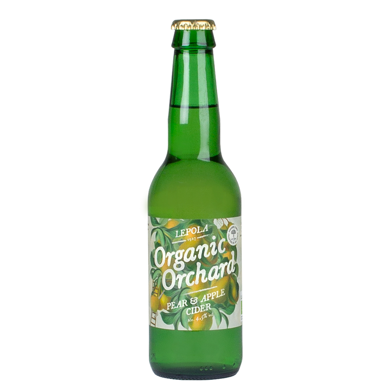 Lepola Organic Orchard Pear & Apple Cider 5,5% - 0,33l bottle