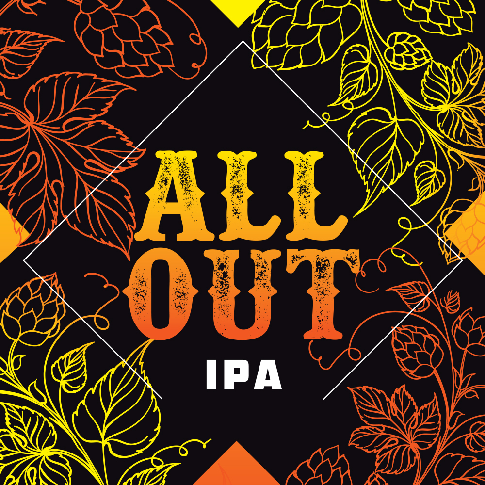 All Out IPA 5,5% (G) - 0,44l can