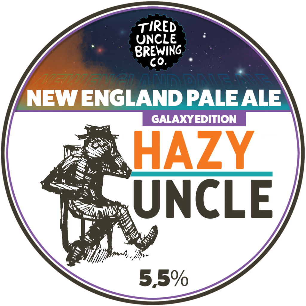 Tired Uncle Hazy Uncle Galaxy edition NEPA 5,5% - 0,33l can