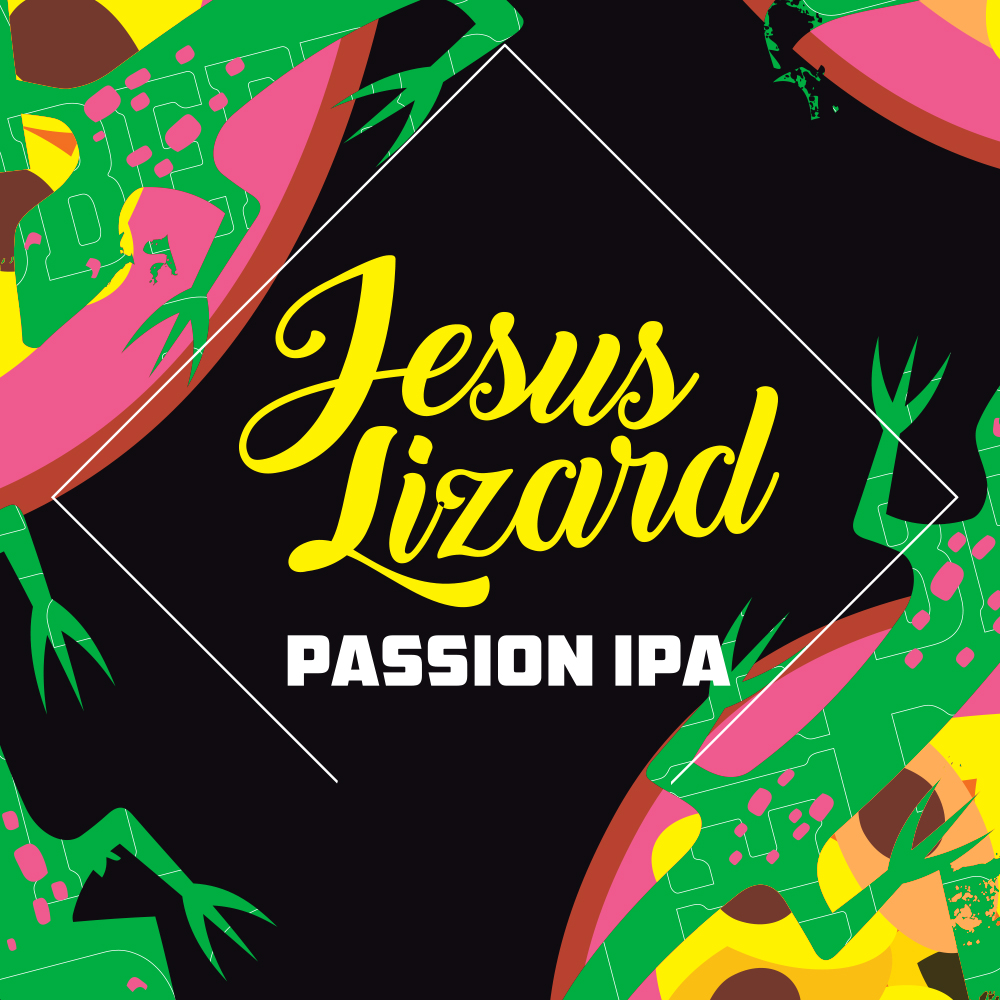 Jesus Lizard Passion IPA 5,5% (G) - 0,44l can