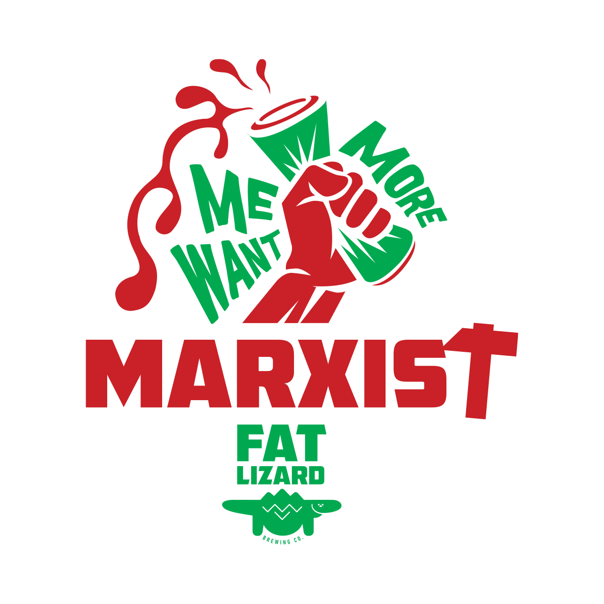T-shirt Marxist Red Ale