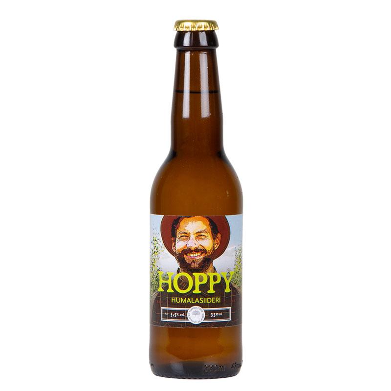 Lepola Hoppy Humalasiideri 5,5% - 0,33l bottle