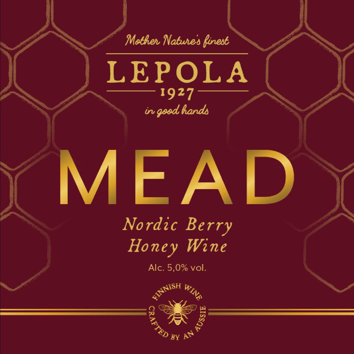 Lepola Nordic Berry Mead 5,0% - 0,33l bottle