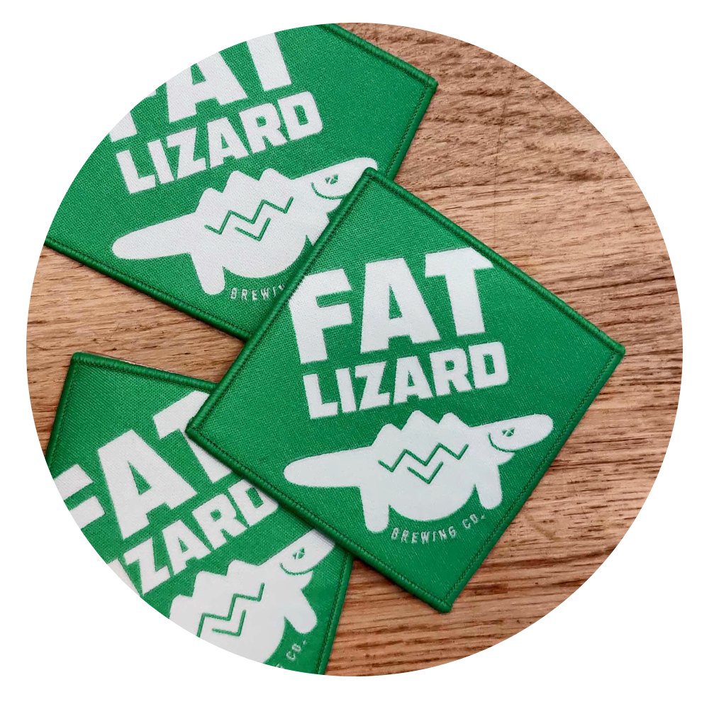 Fat Lizard Patch