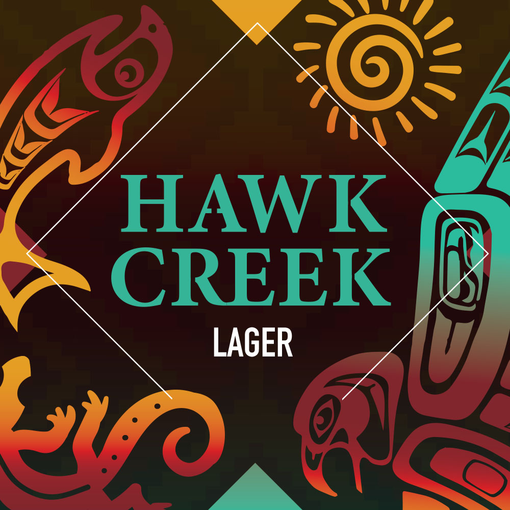 Hawk Creek American Lager 5,0% (G) - 0,44l can