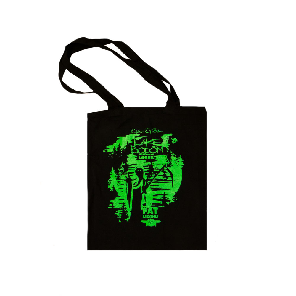 Fat Lizard Tote Bag - Lake Bodom