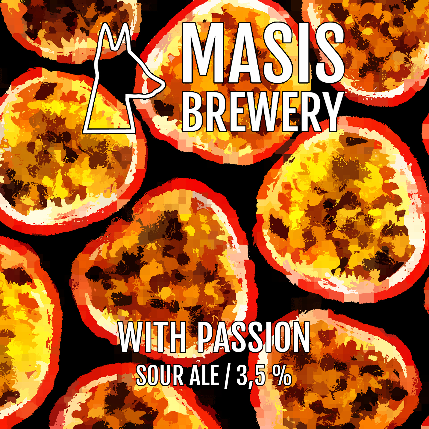 Masis With Passion 3,5% - 0,33l can