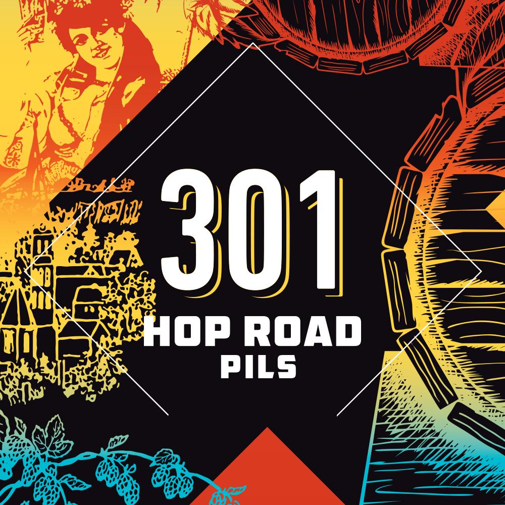 301 Hop Road Pils CITRA 5,0% (G) - 0,44l can