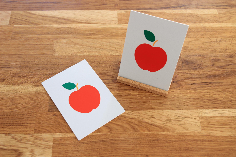 "Karte ""An apple a day..."""