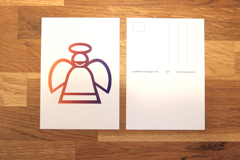 Postkarte Engel I FRISCHES DESIGN