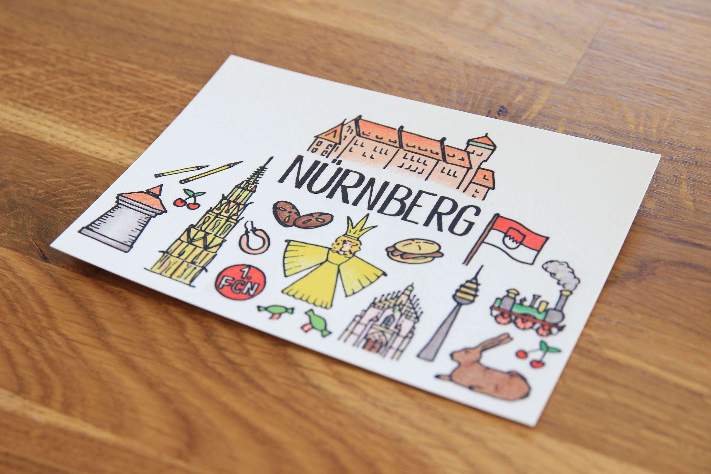 Postkarte Nürnberg