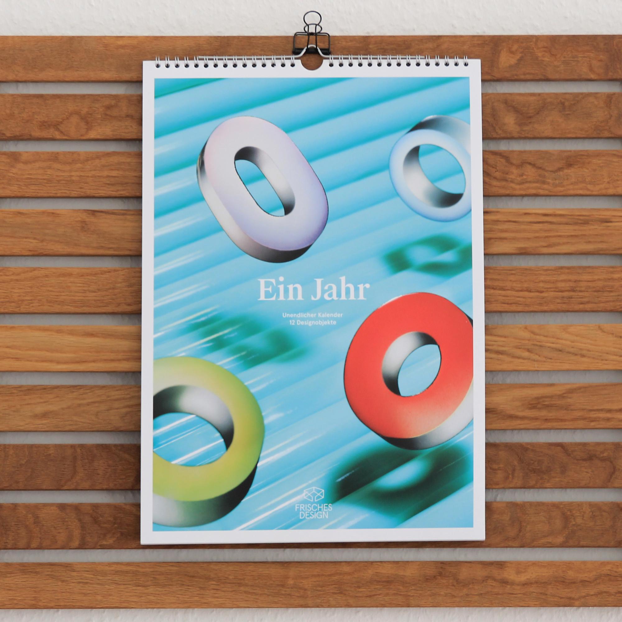 Unendlicher Kalender I FRISCHES DESIGN