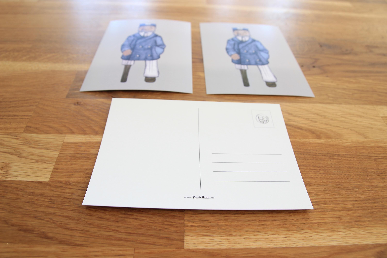 Postkarte Kapitän