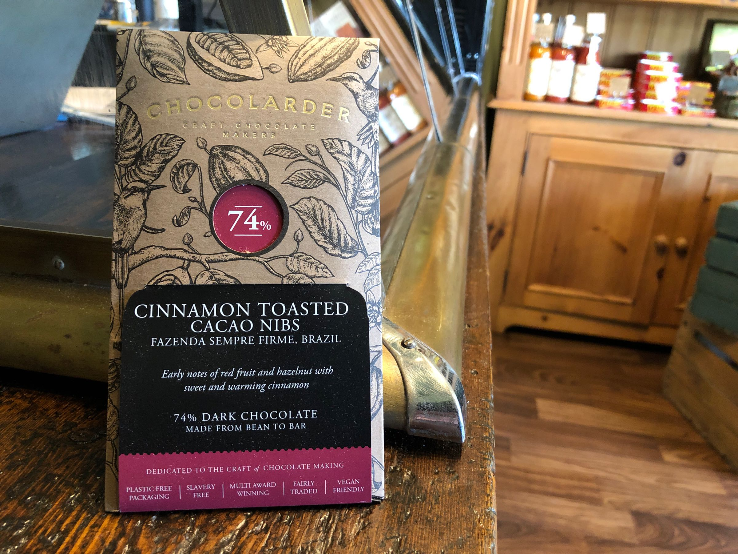 Chocolader Cinnamon Toasted Cacoa Nibs