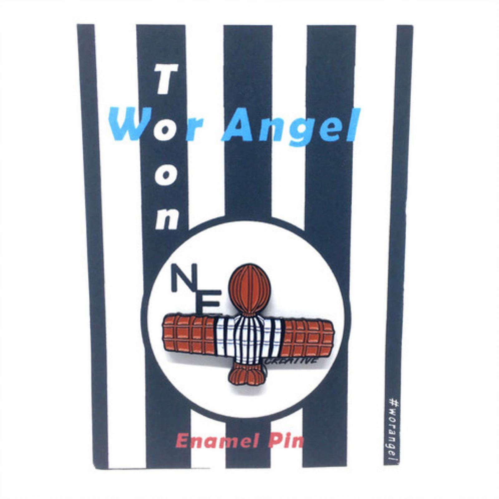 Toon Angel Pin Badge