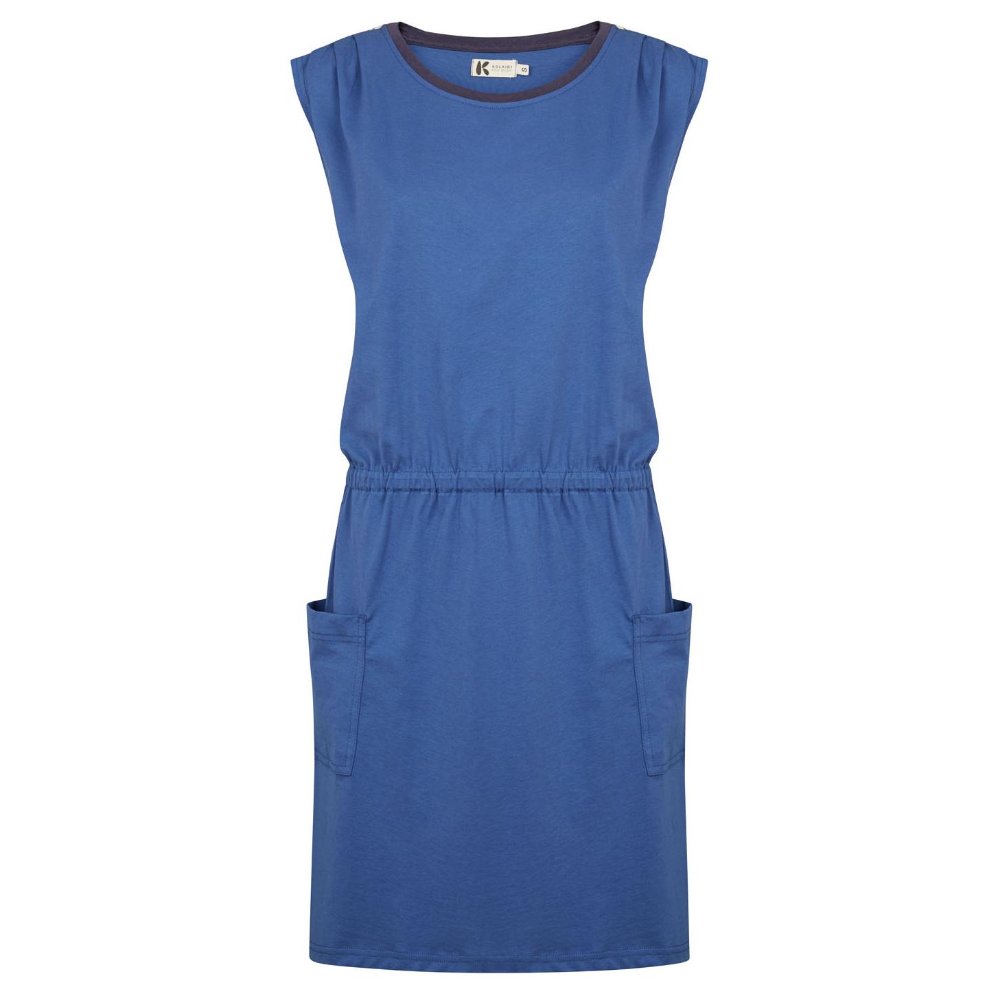 Blå damekjole