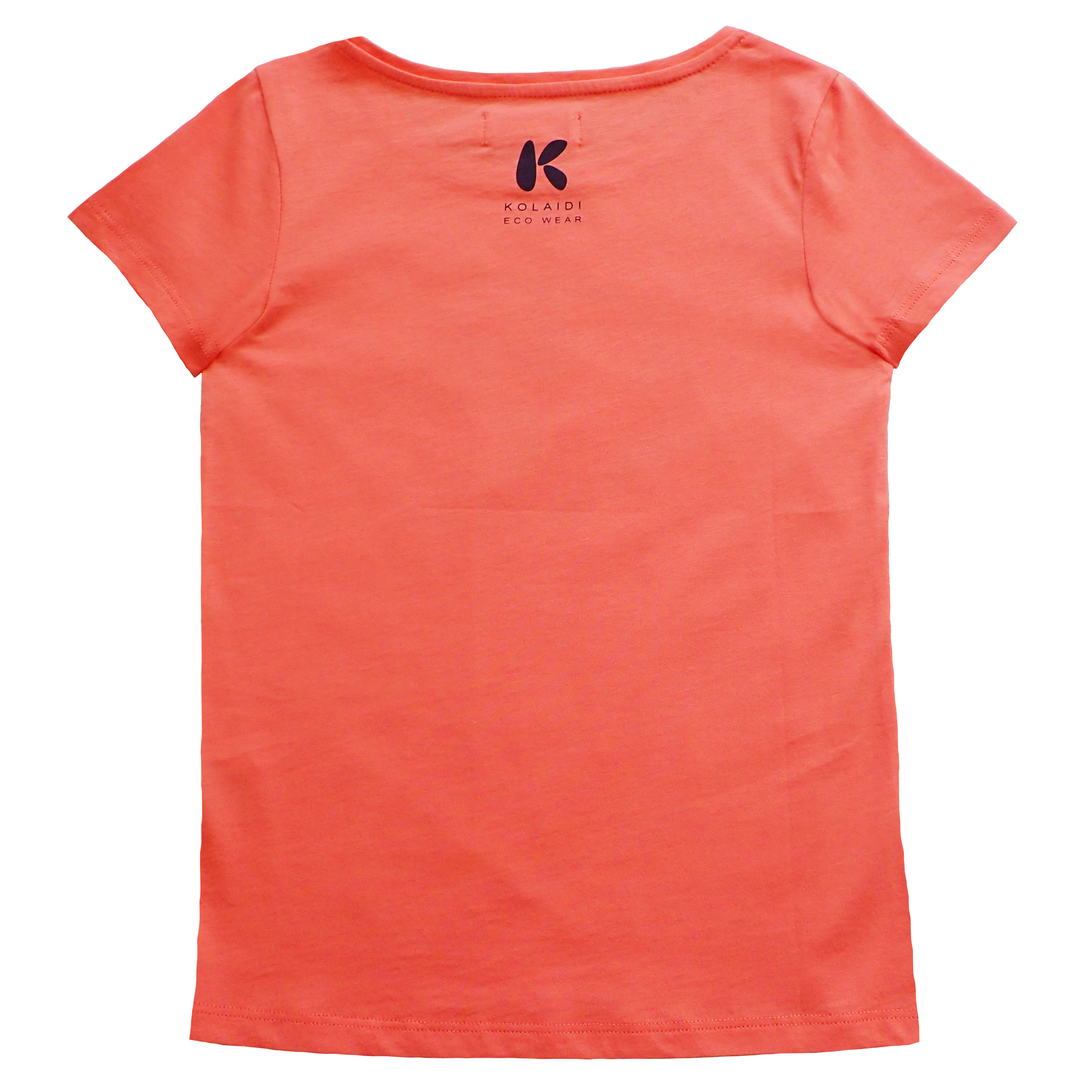 Pige T-shirt med print