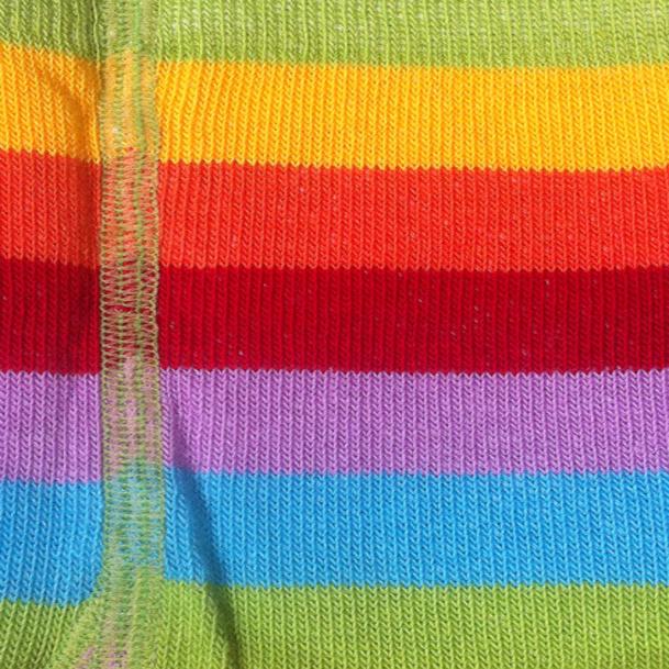 Regnbue strømpebukser
