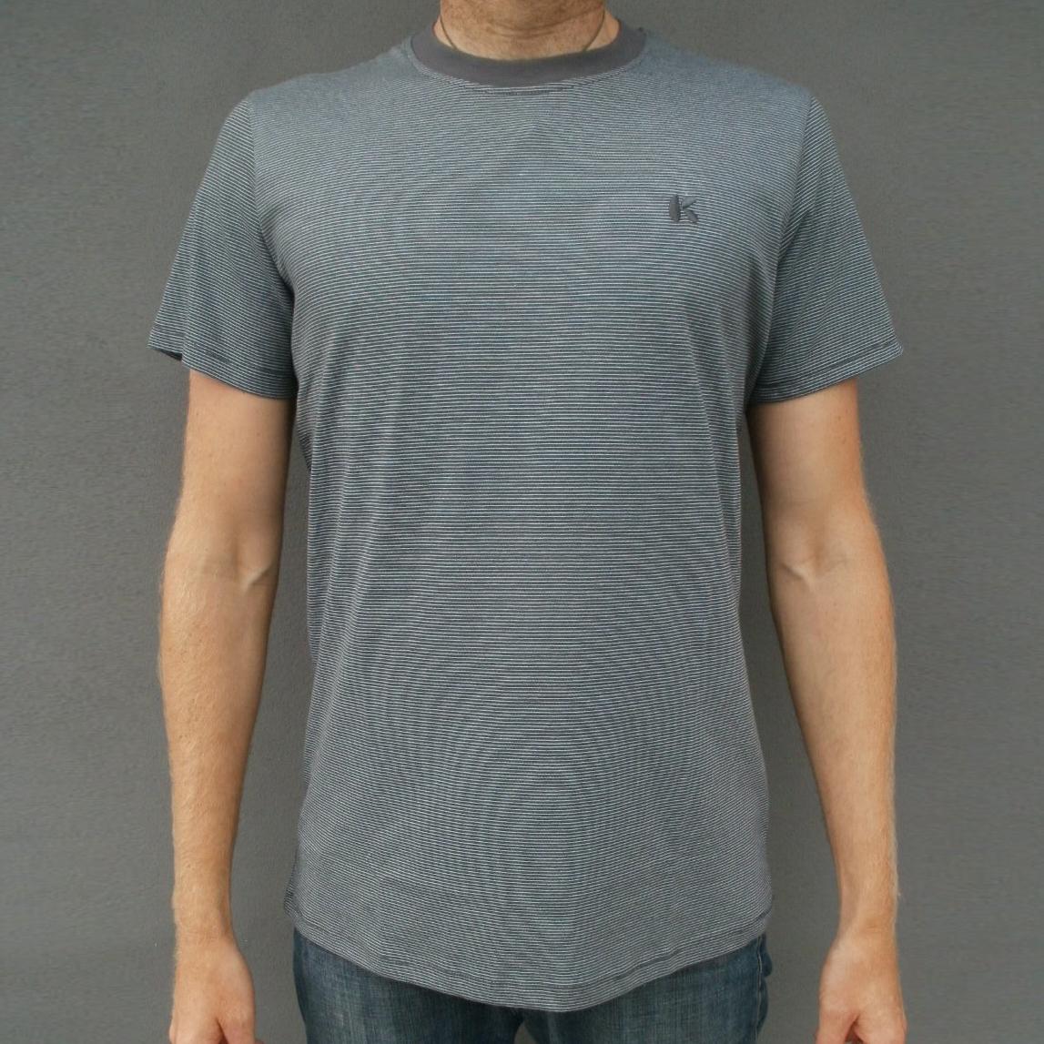 Herre T-shirt med striber