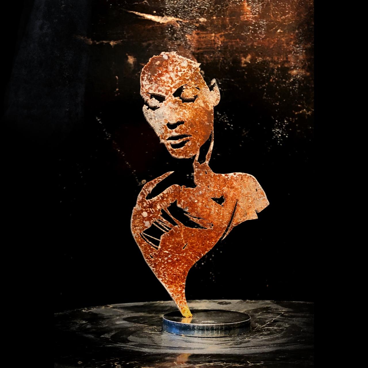 Skulptur - Skråpuk II