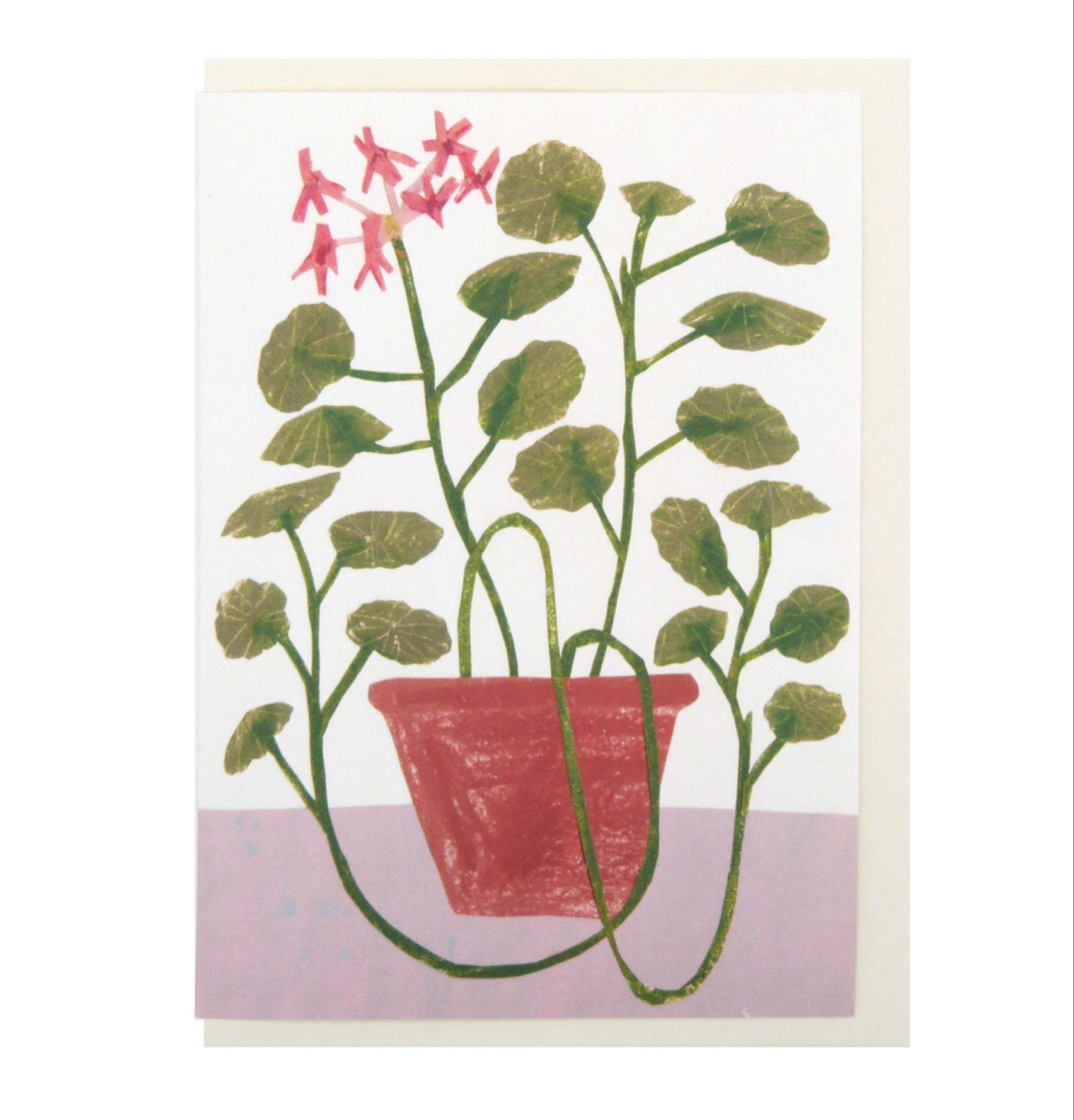 Scented Geranium card by Hadley Paper Goods