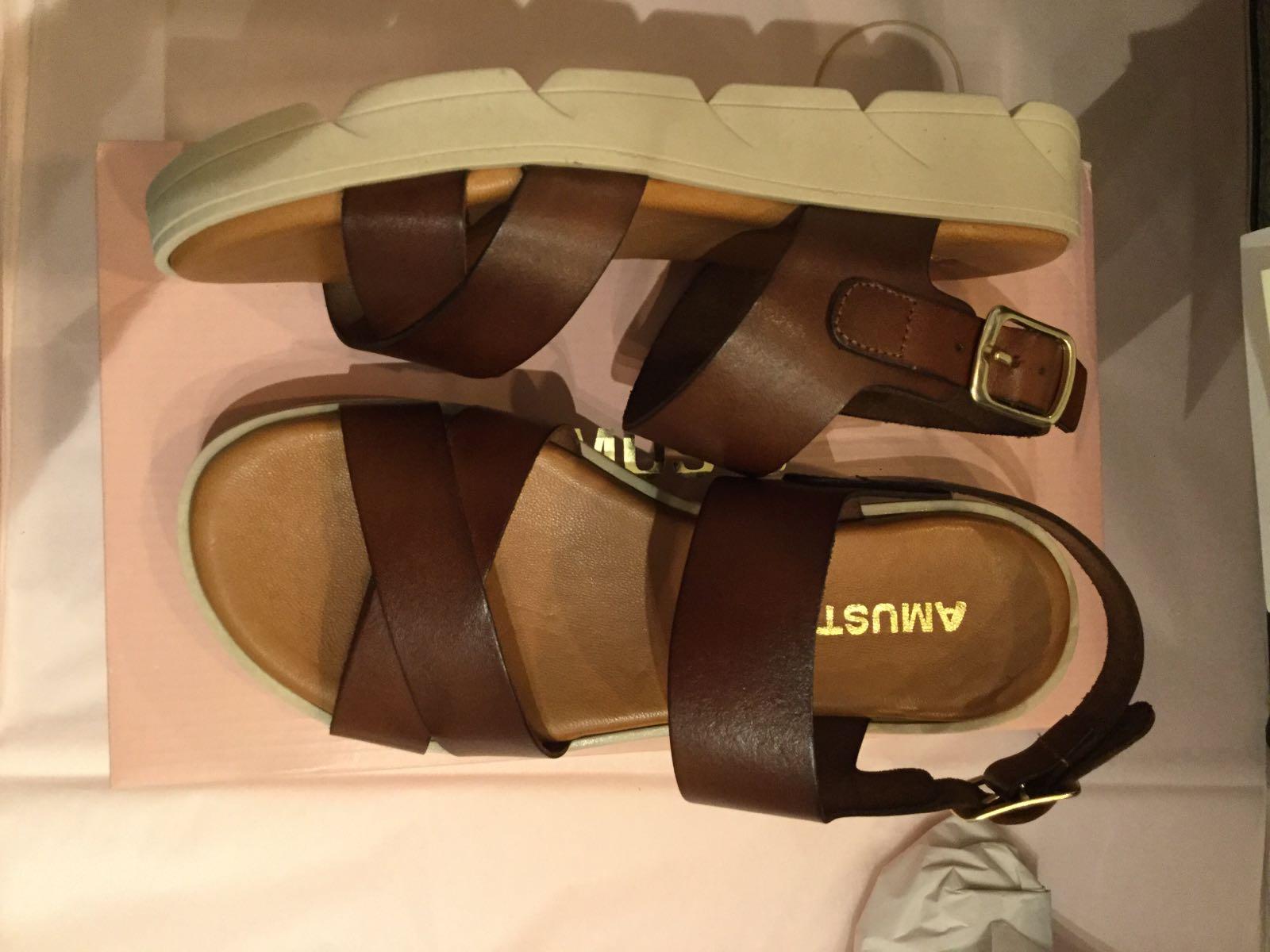 Amust - Anna sandal cognac