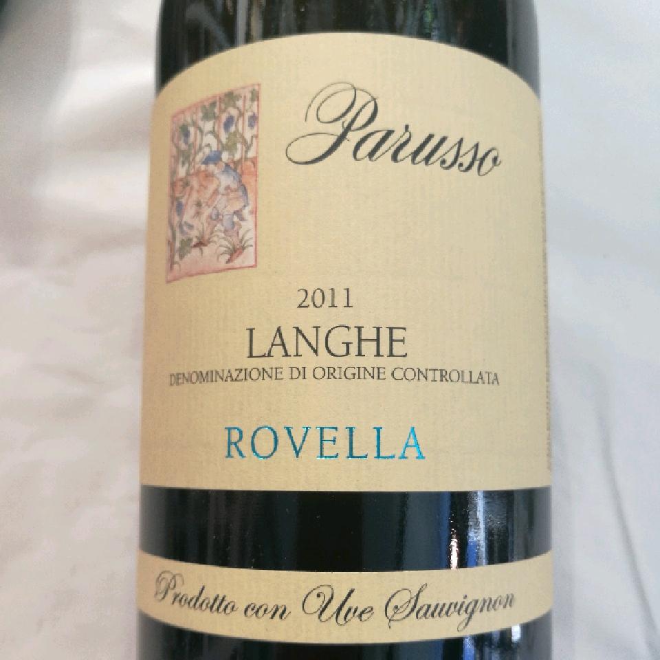 2011 Langhe Sauvignon Blanc 'Rovella' - Parusso