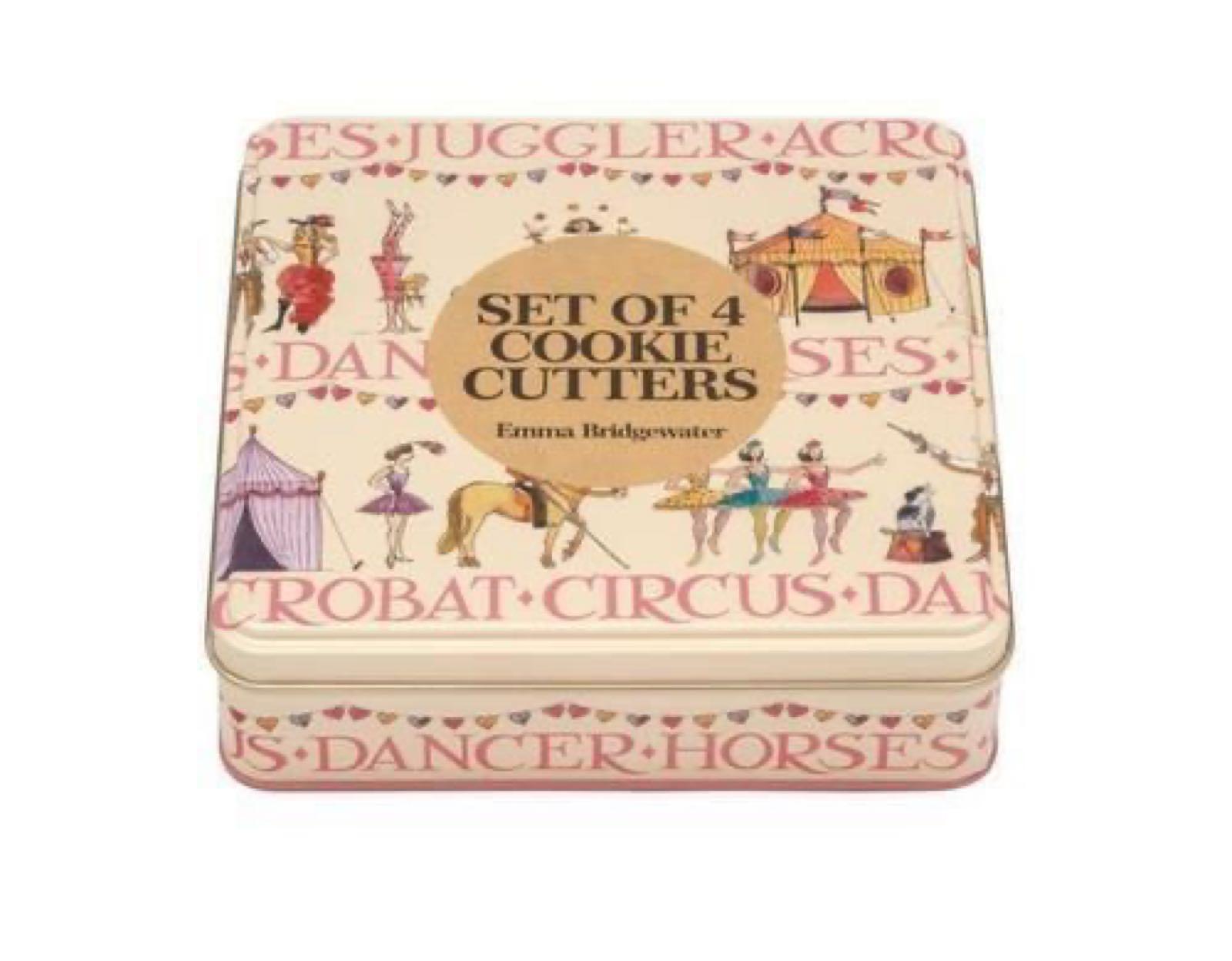 Emma Bridgewater Circus set of Cookie Cutters