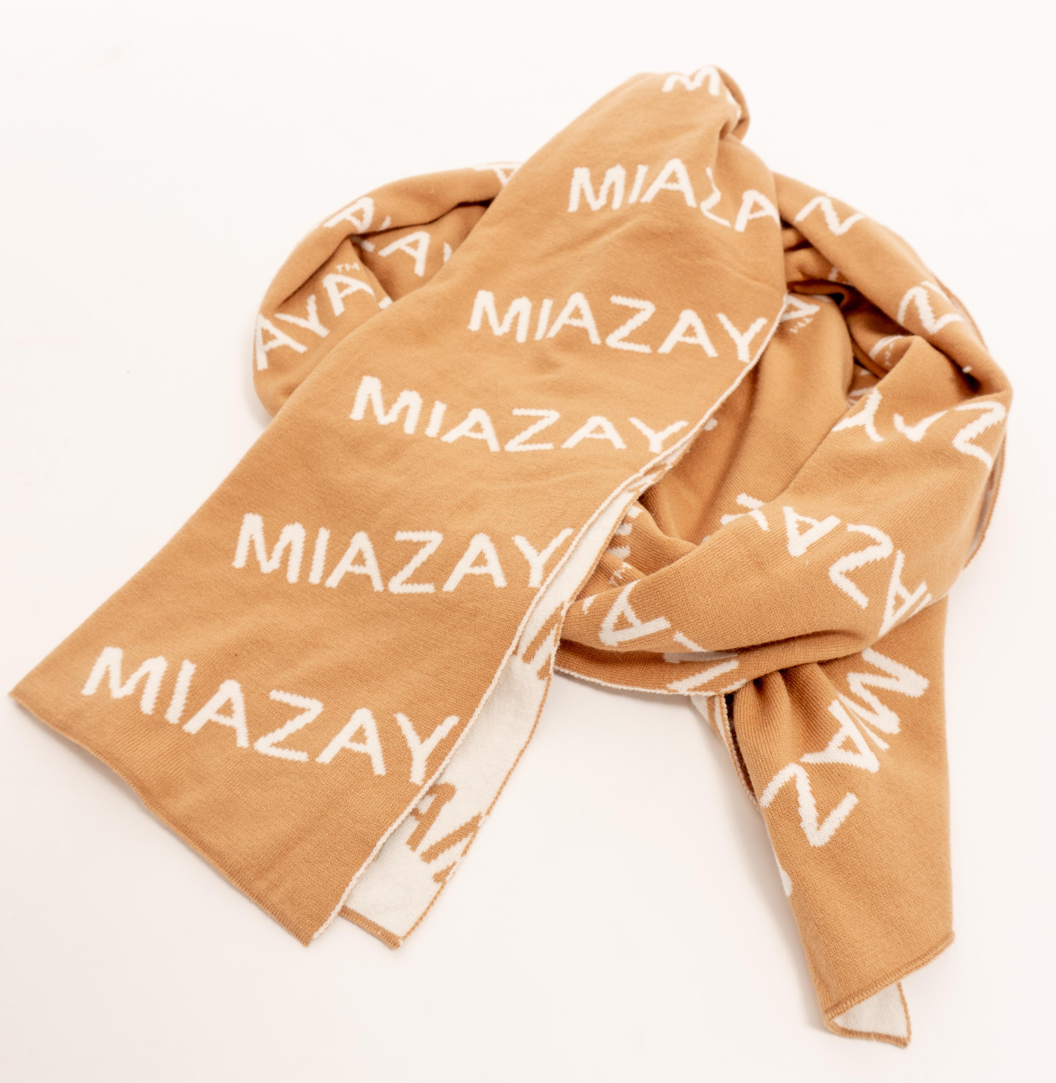 MiaZAYA Logo Schal