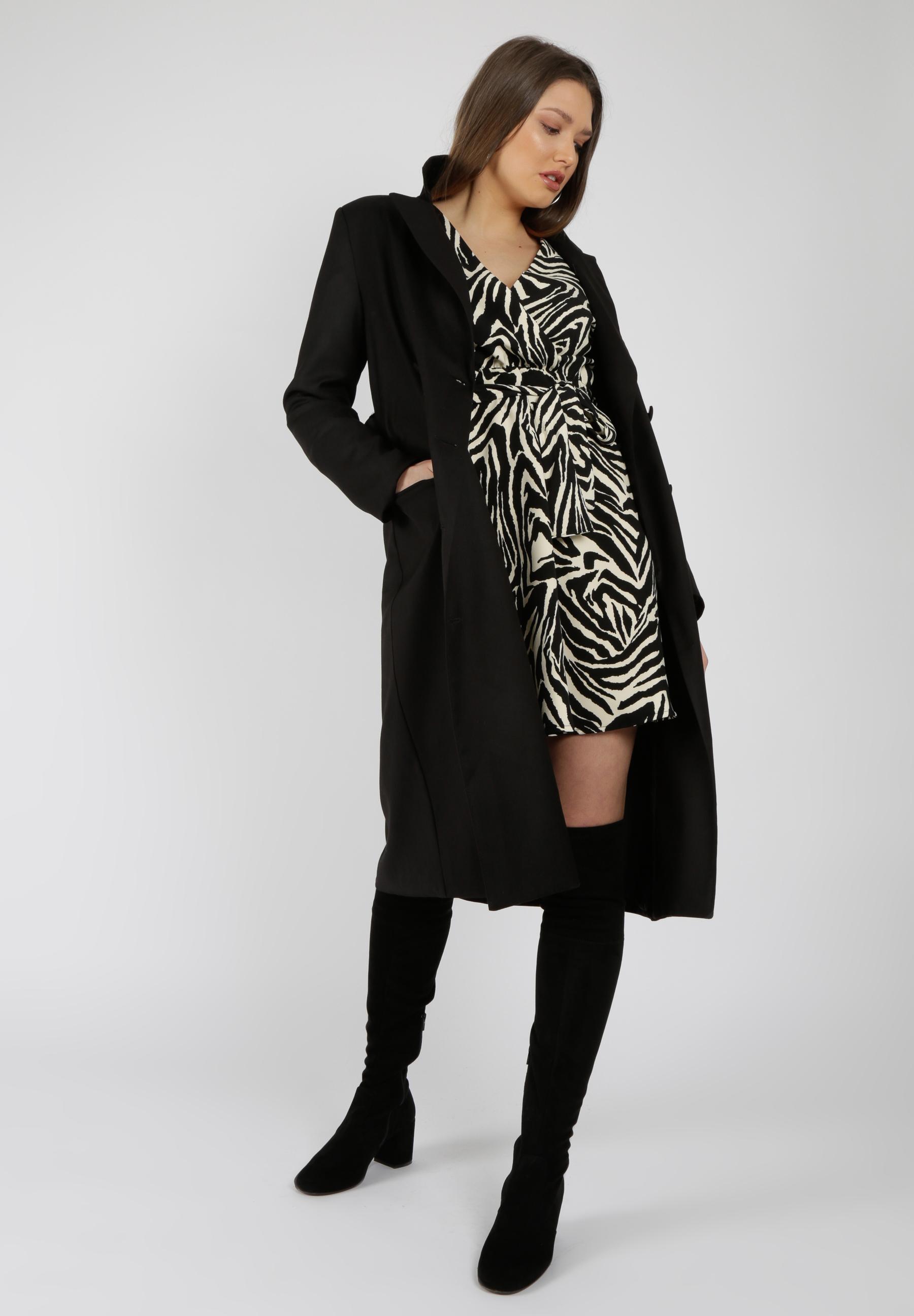 MiaZAYA Zebra Kleid