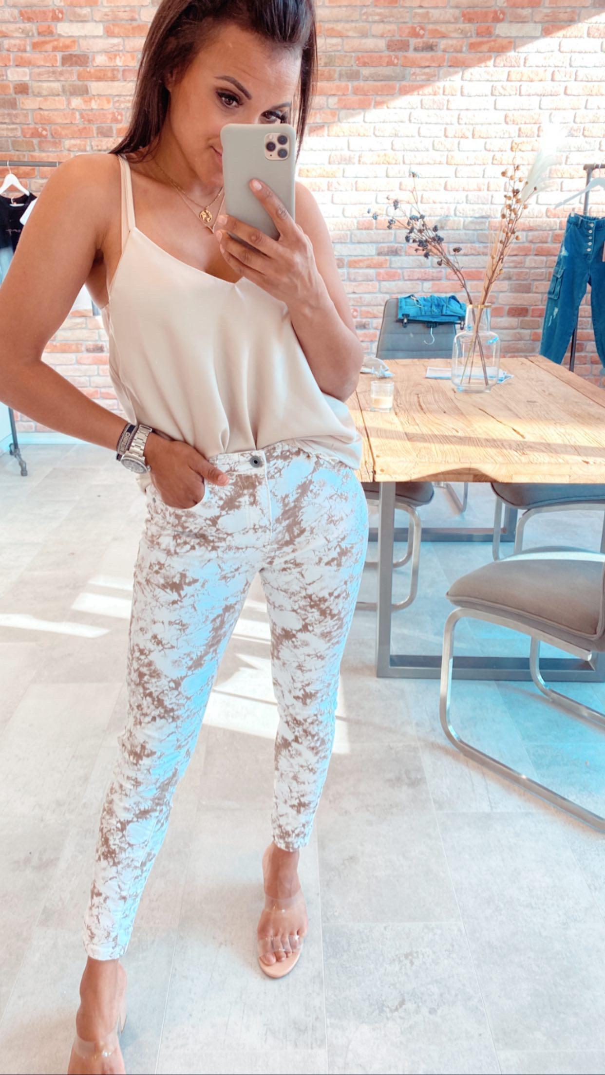 MiaZAYA Marmor Jeans
