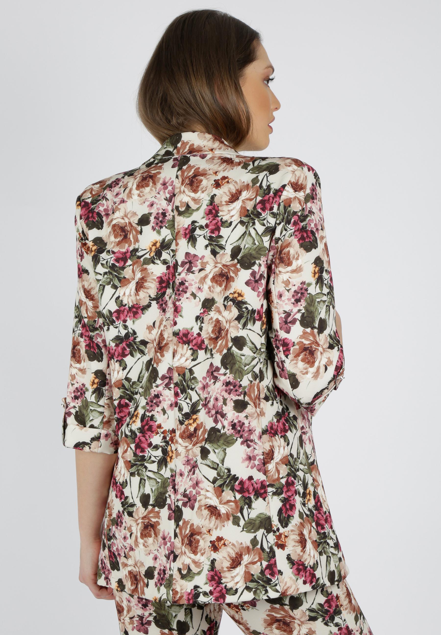Blazer Blumenprint