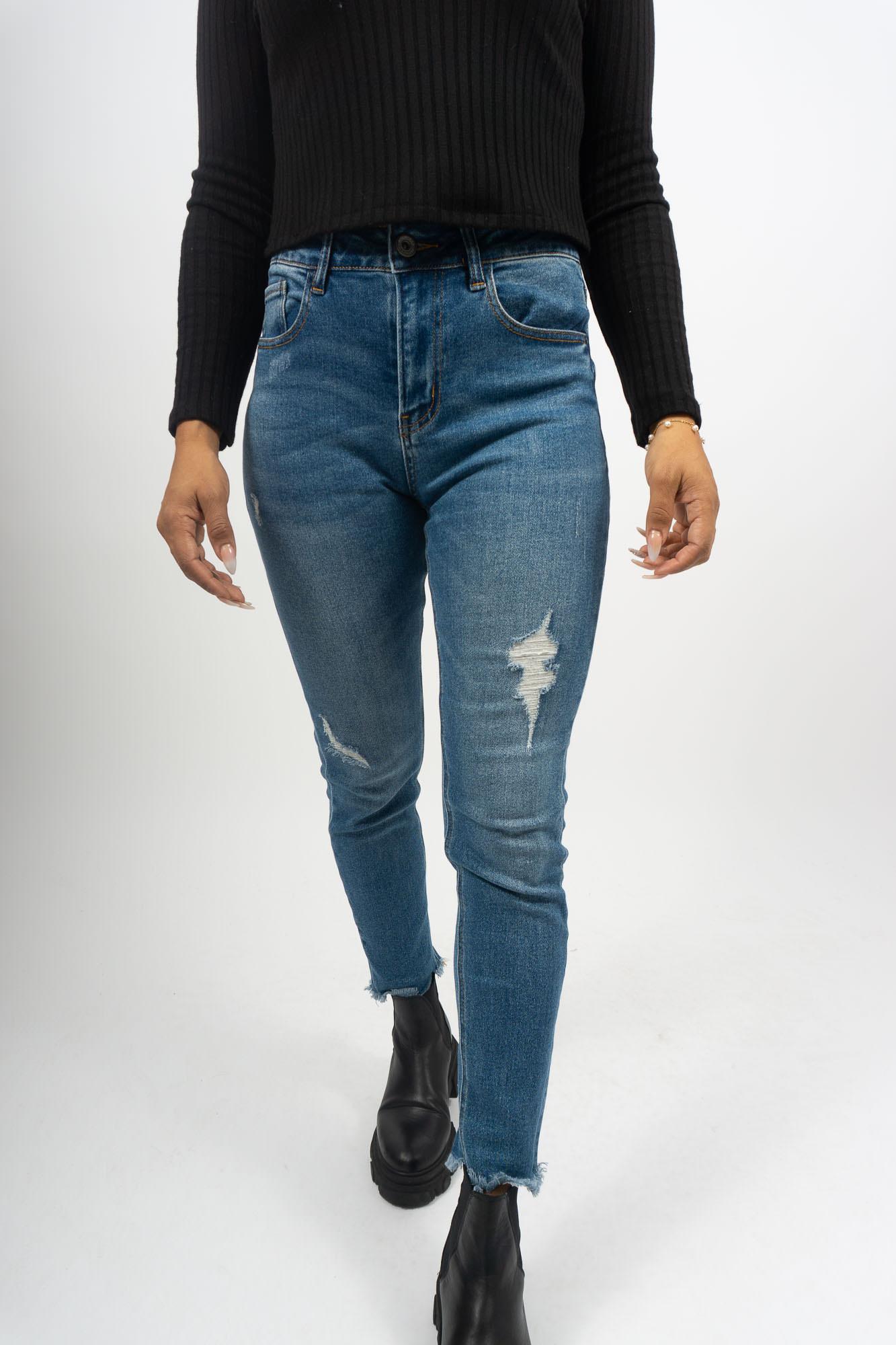 MiaZAYA Jeans Outcut
