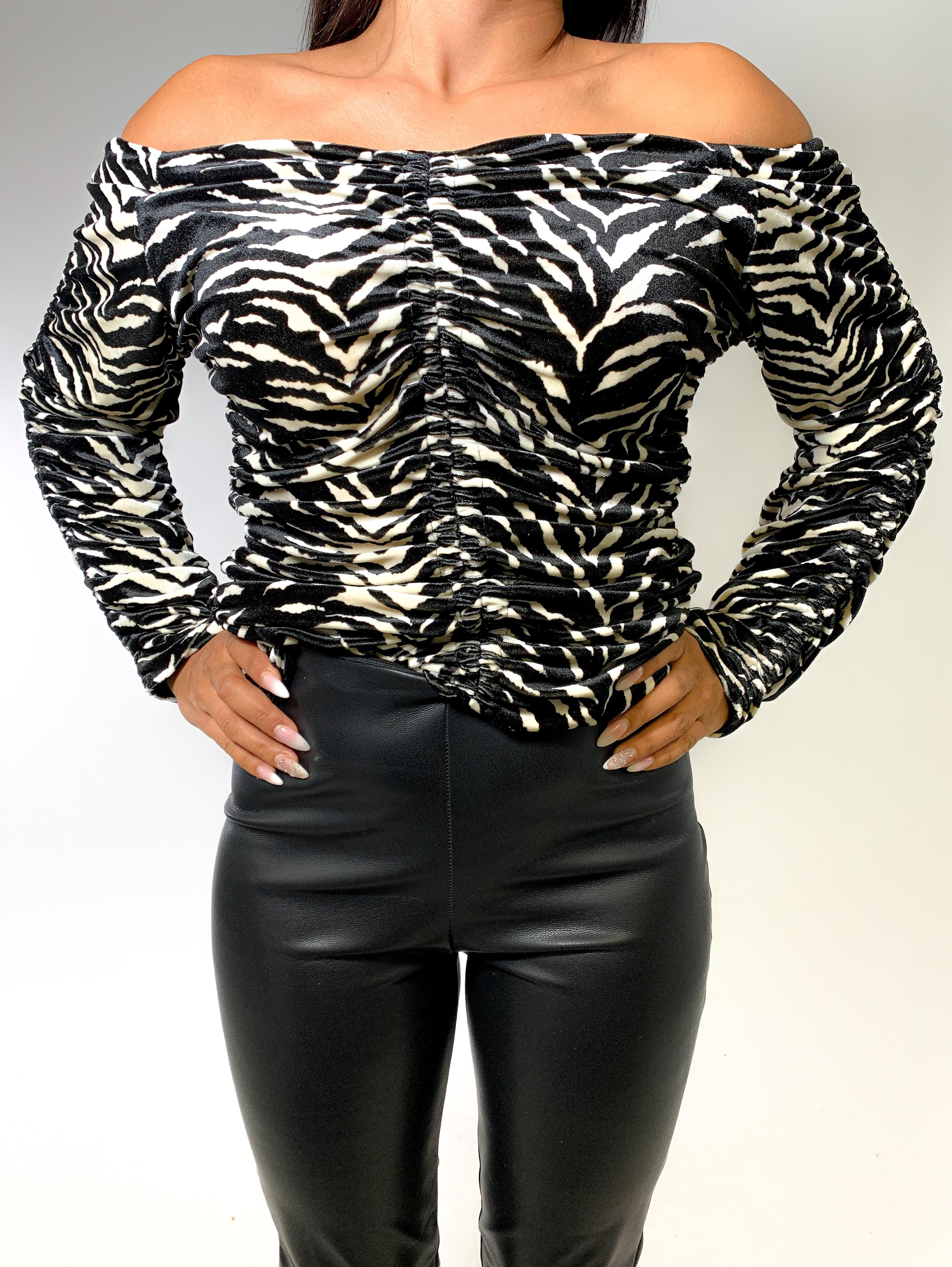 Zebra Longshirt