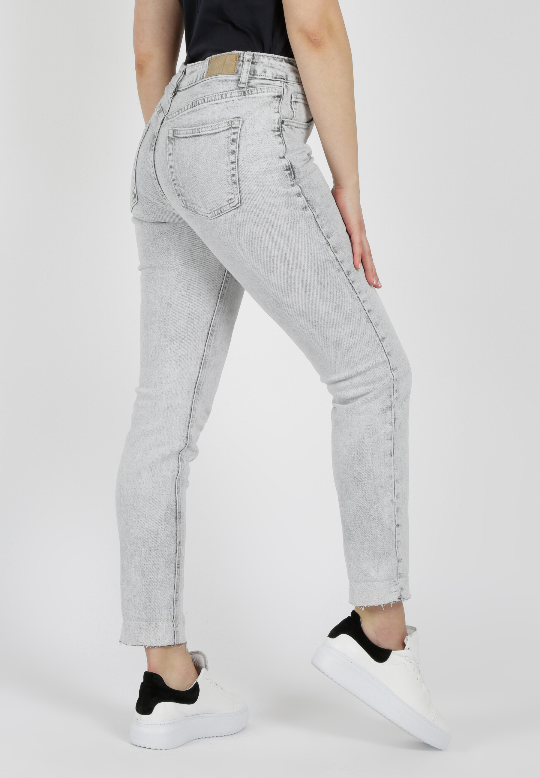 80's grey washed Jeans