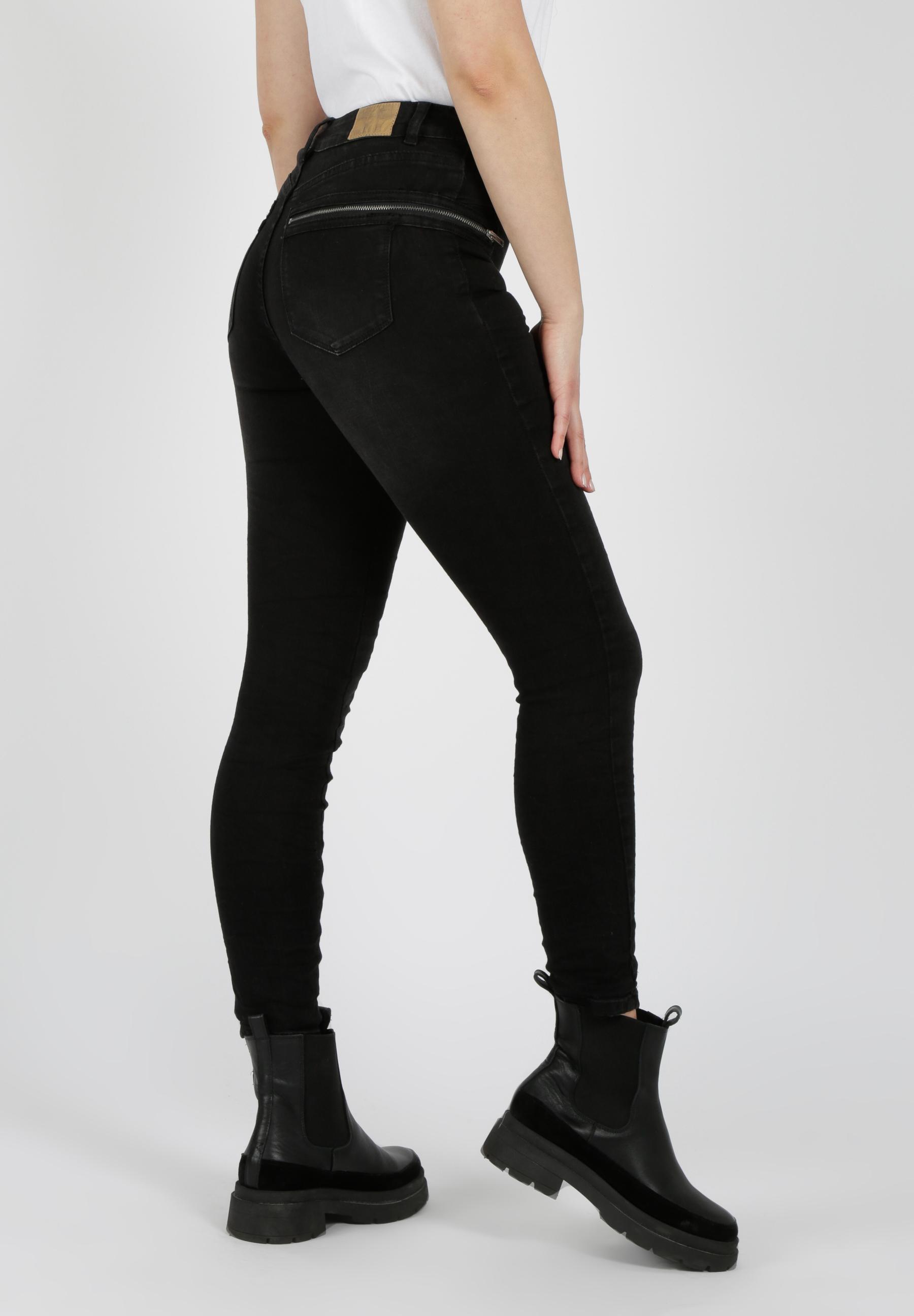 MiaZAYA Jeans Reißverschluss