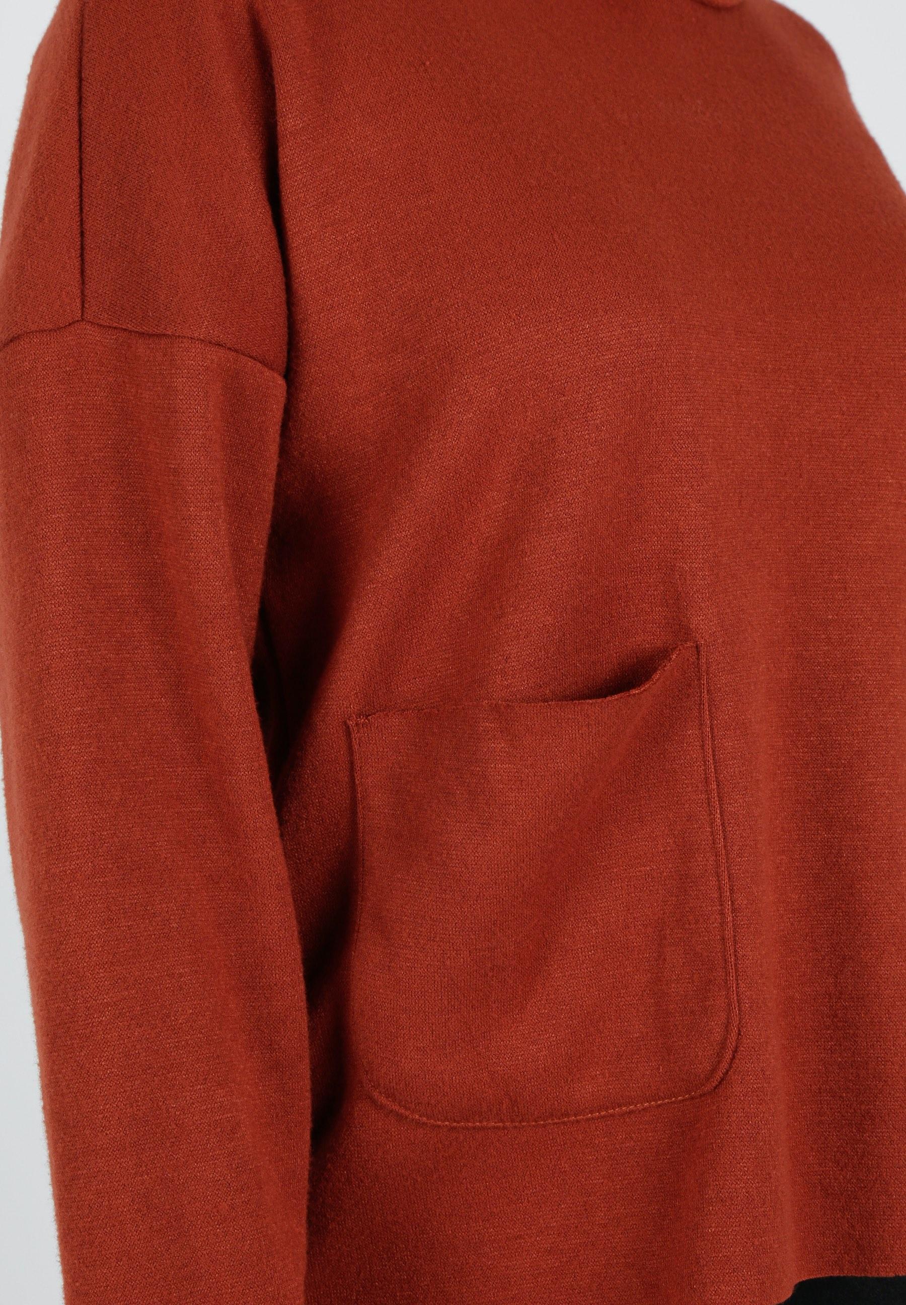 MiaZAYA Pullover Taschen