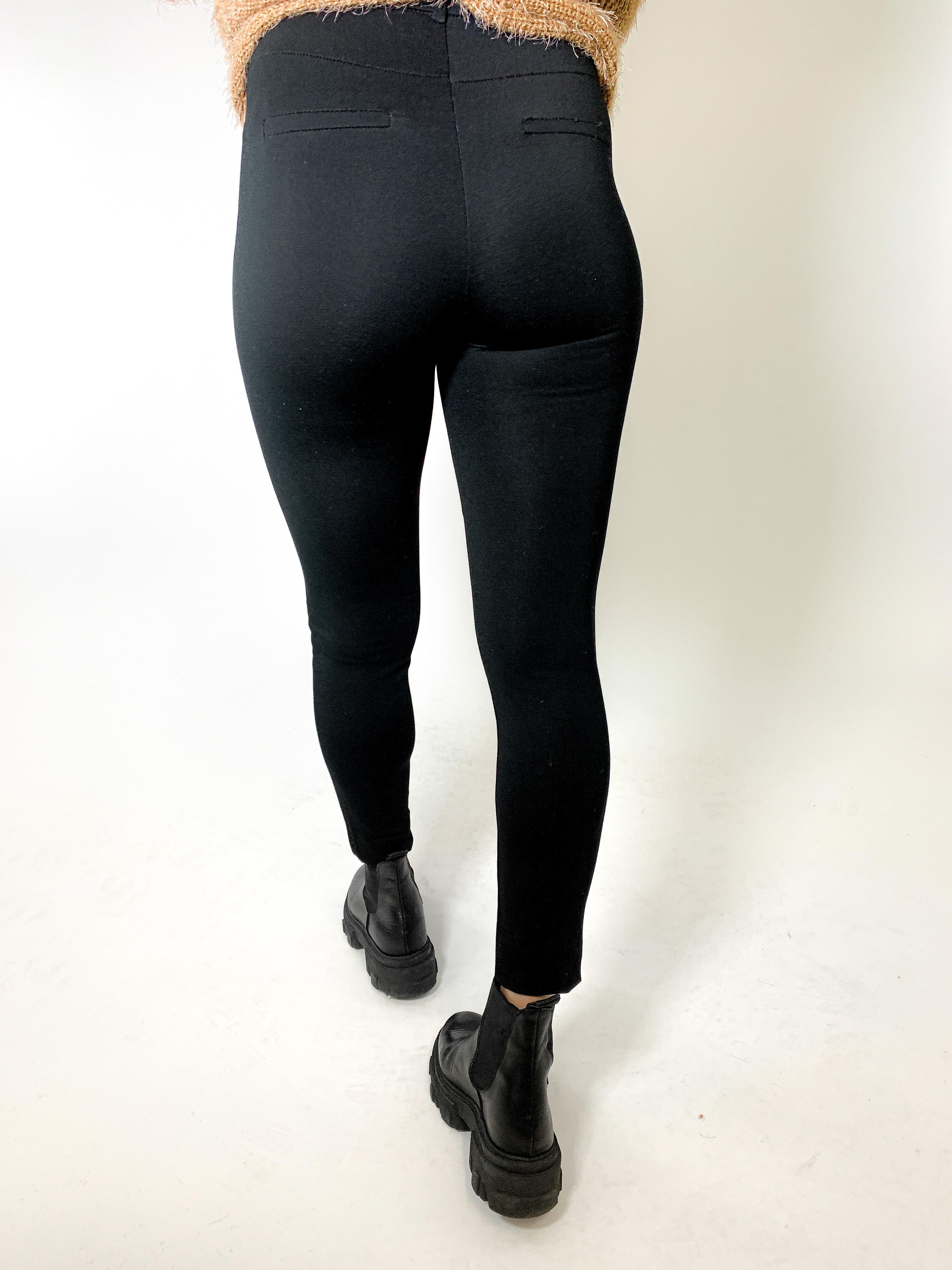 MiaZaya Leggings schwarz