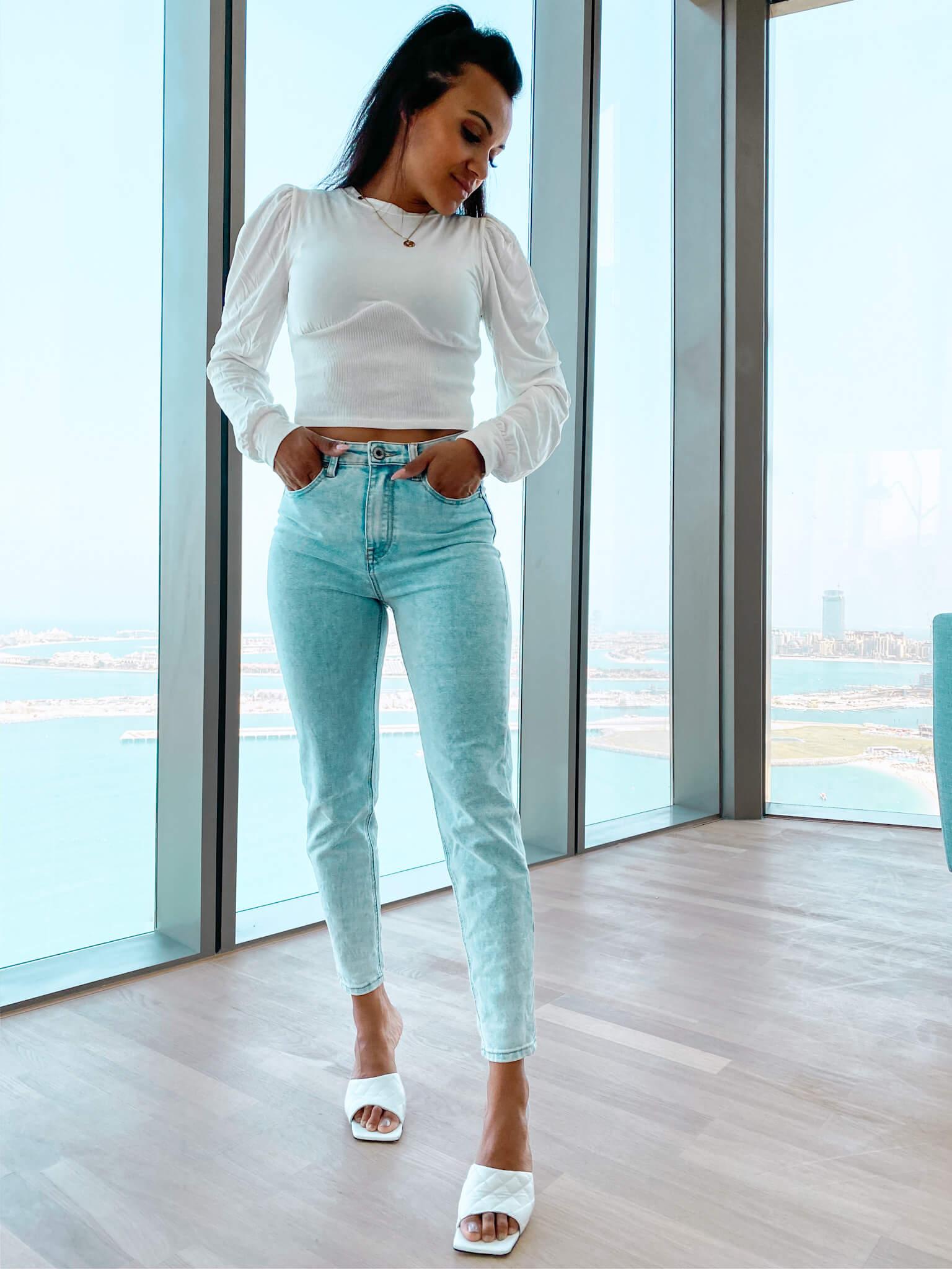 Mom-Jeans Skinny