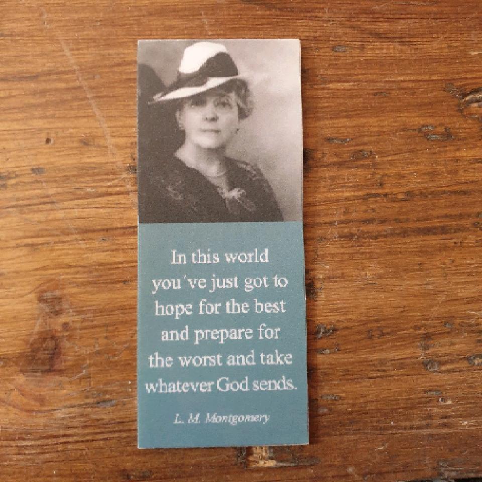 Magnetiskt bokmärke - L.M. Montgomery
