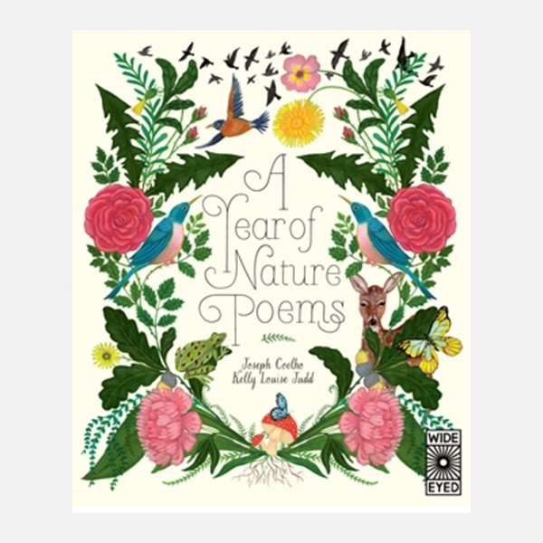A Year Of Nature Poems - Hardback Book