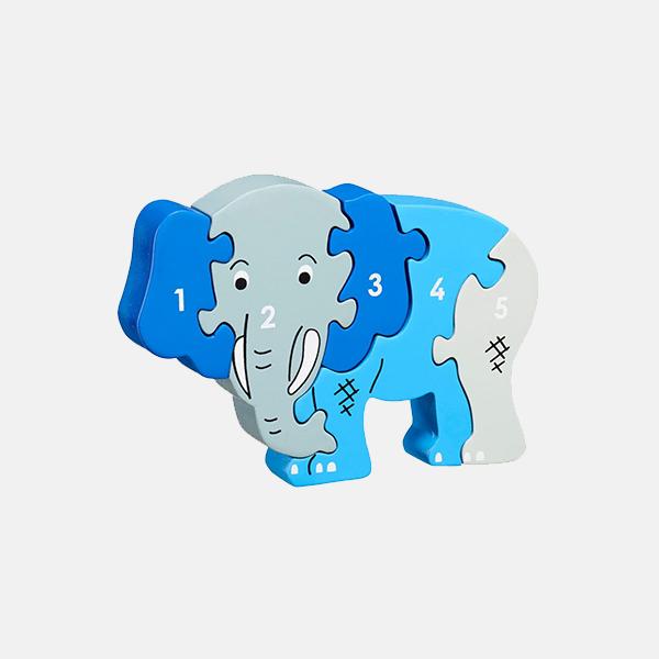 Lanka Kade - 1-5 Wooden Puzzle