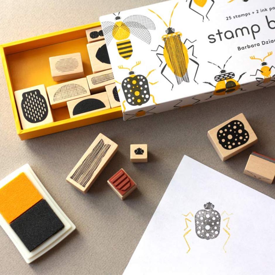 Barbara Dziadosz - Bugs Stamps Set