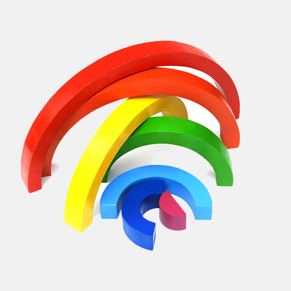 Best Years Wooden Rainbow  Small