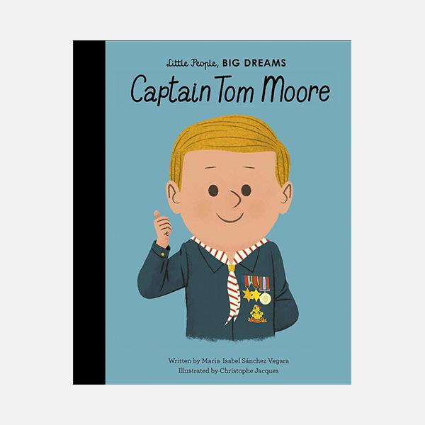 Captain Tom Moore - Little People Big Dreams Hardback