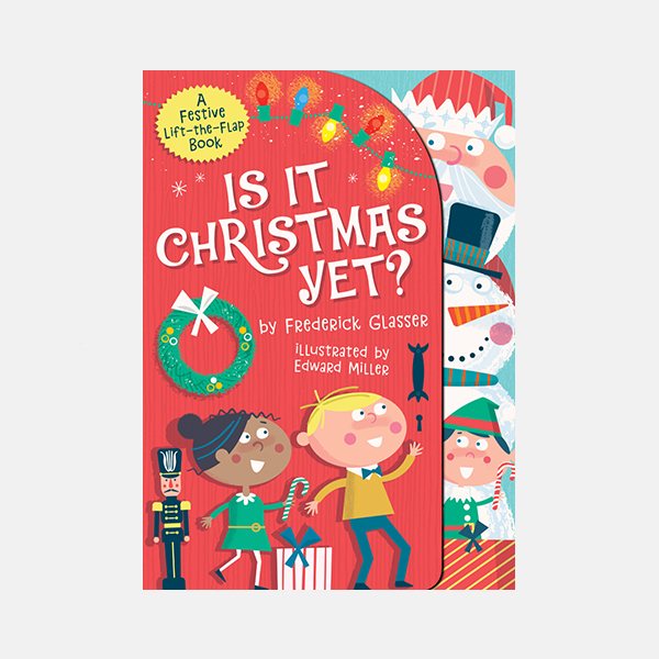 Is It Christmas Yet? Board Book