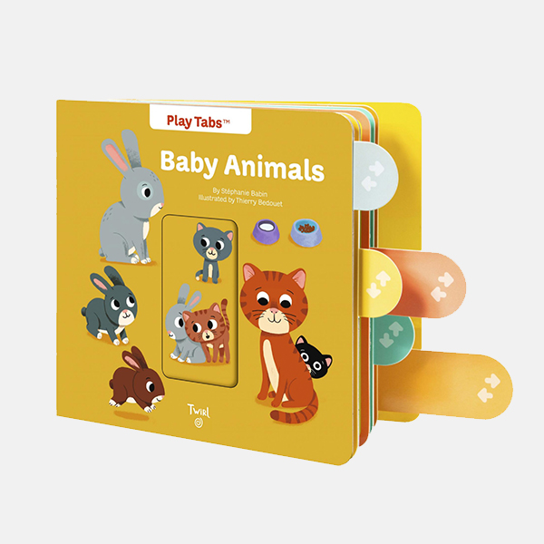 Baby Animals - Play Tabs Board Book