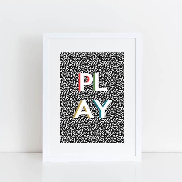 Pea And Me - Play Print